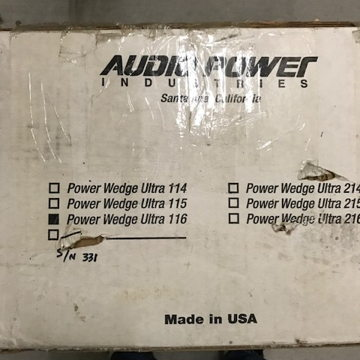 Power Wedge 116