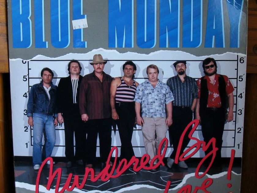Blue Monday - - Murdered by Love - Kent  KLP 9001