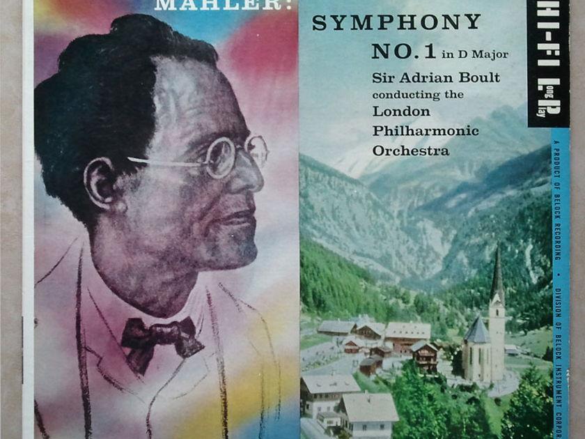 Everest/Adrian Boult/Mahler - Symphony No.1 / NM