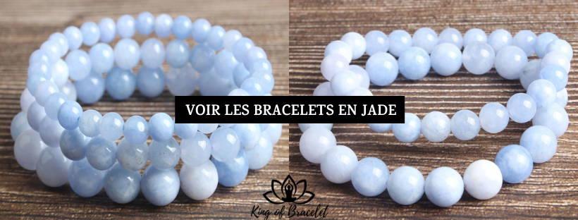 Bracelet Jade Bleu - King of Bracelet