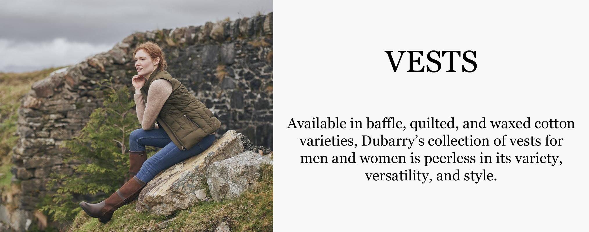 Dubarry Vests