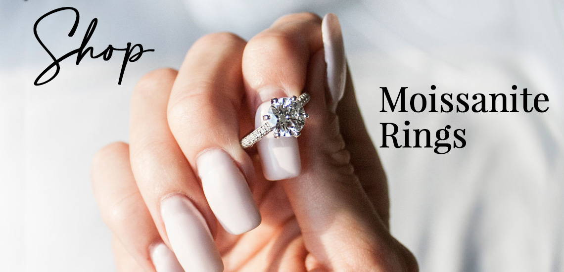Best Non Diamond Engagement Ring for those Wanting the Diamond Look