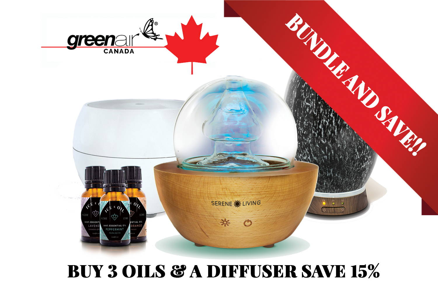 Essential Oils and Diffusers