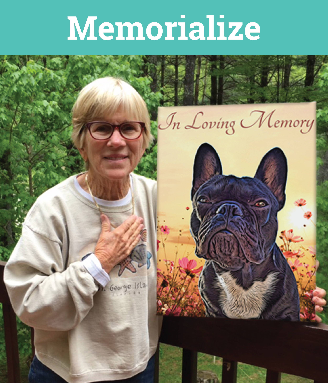 Dog Portrait - memorial