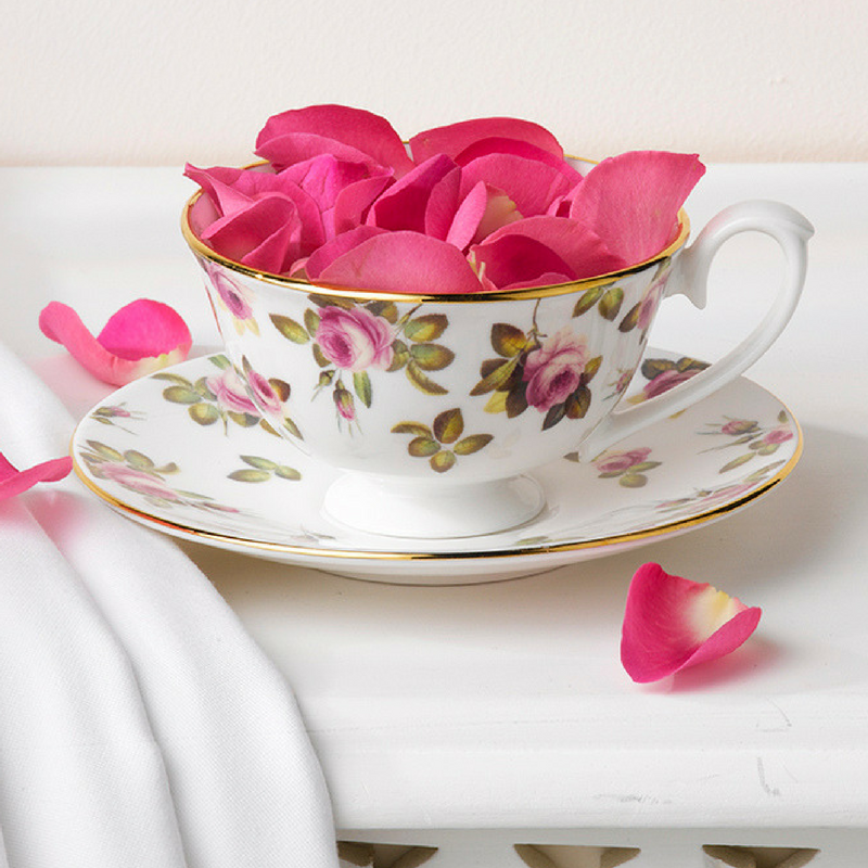 Rose Garden fine bone china teaware