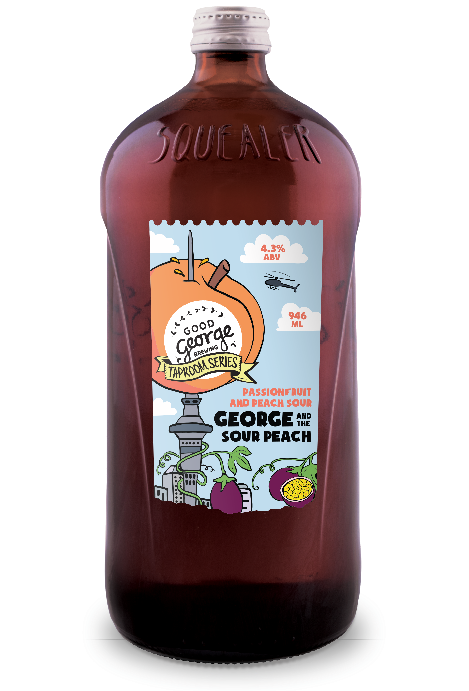 Good George and the sour peach