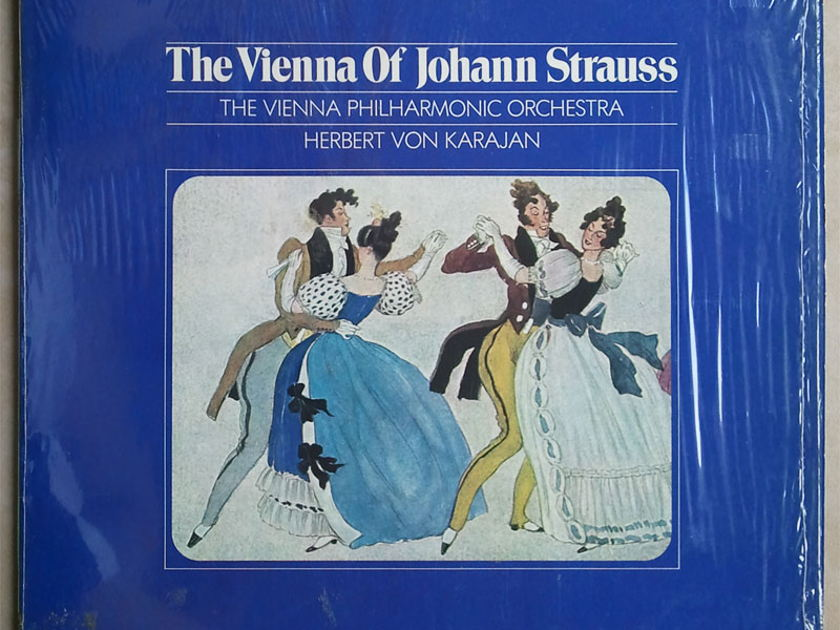London ffrr/Karajan/The - Vienna of Johann Strauss / NM