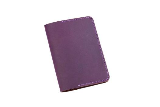Фиолетовая обложка для паспорта
