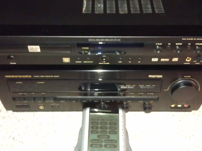MARANTZ SR870u and DV18 MKII and RC5200