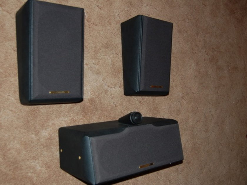 Sonus Faber Grand Piano Solo and Walls center and surround speakers