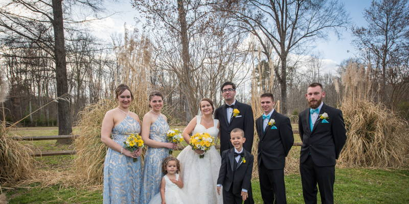 A Garden Fairy Tale Wedding