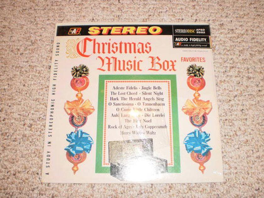 Audio Fidelity - (Sealed) christmas music box