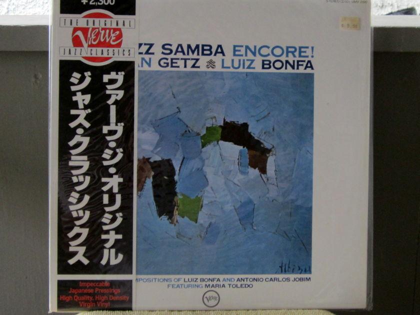 Getz & Bonfa - Jazz Samba Encore Verve Jazz Classics - UMV 2100