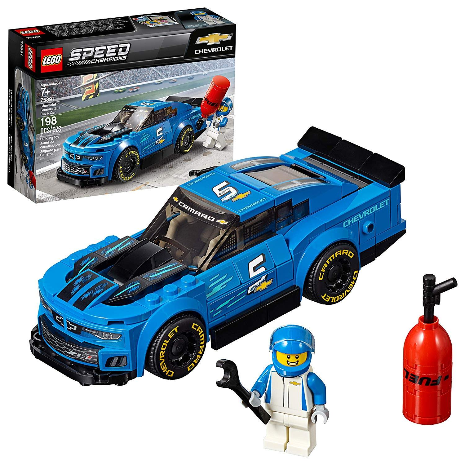 LEGO 75891: Chevrolet Camaro ZL1 Race Car