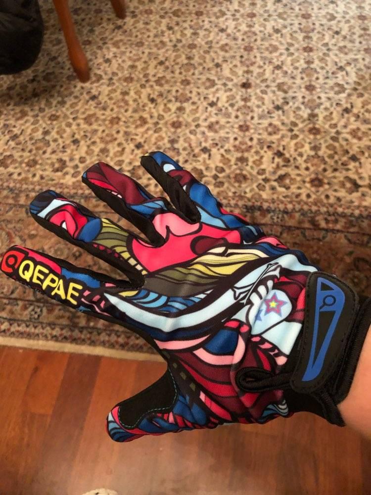 gants trottinette colores legers