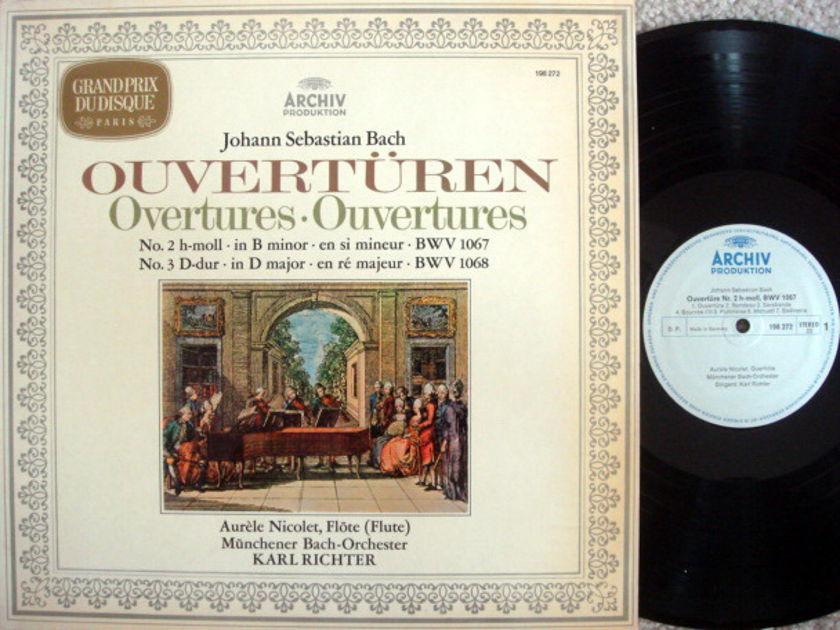 Archiv / RICHTER, - Bach Overtures No.2 & 3,  MINT!