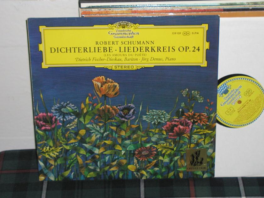 Fischer-Dieskau/Demus - Schumann Dichterlieb LP DGG  TULIP German import