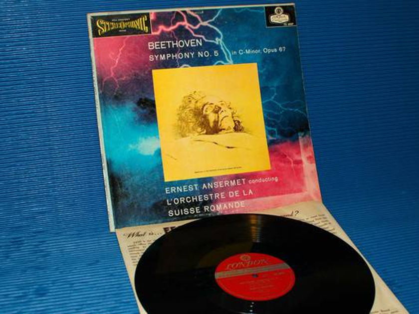 "BEETHOVEN/Ansermet - - ""5th Symphony"" -  London 'Blue Back'  1958 1st pressing"