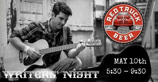 Writers' Night at Red Truck Beer Company