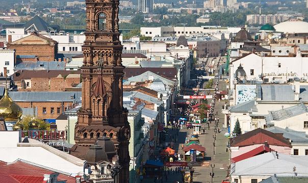Улица Баумана и улица Кремлевская