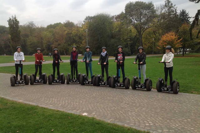 Morning Segway style tour on the Margaret Island