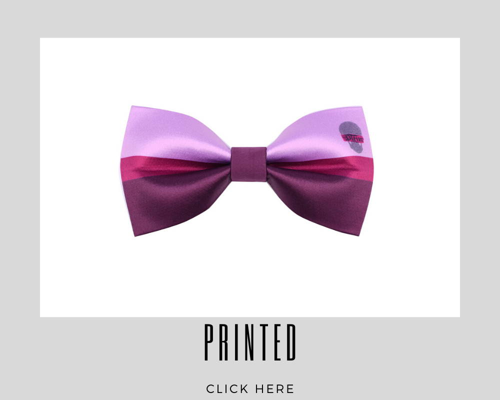 Custom Printed Bow Tie