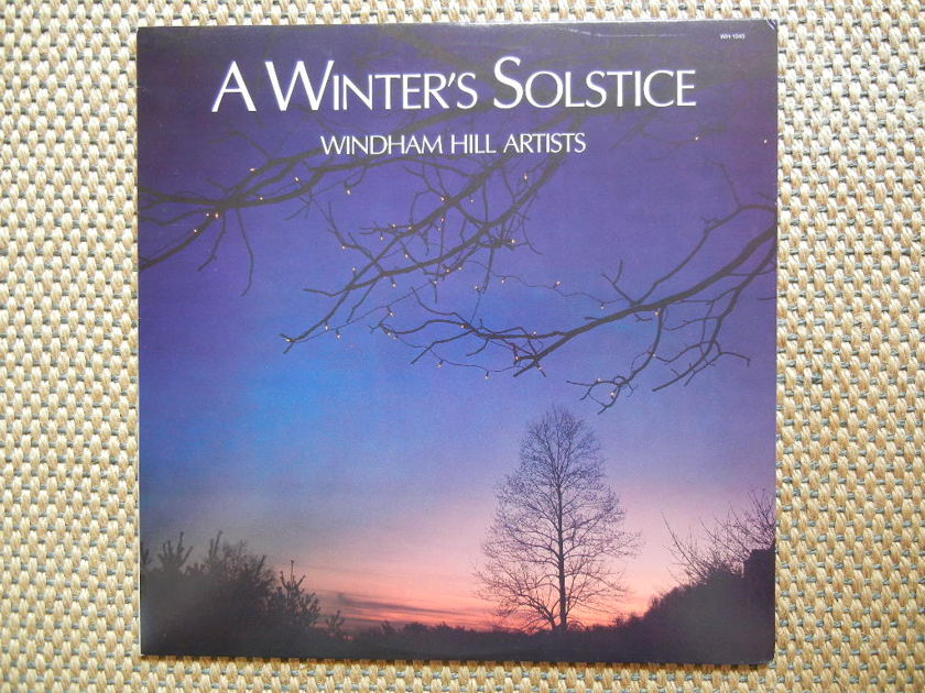 WINDHAM HILL ARTISTS/ - A WINTER'S SOLSTICE/ Windham Hill Records WH-1045 Stereo