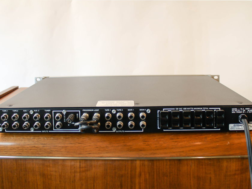Crown International Straight Line 2 Pre-amplifier