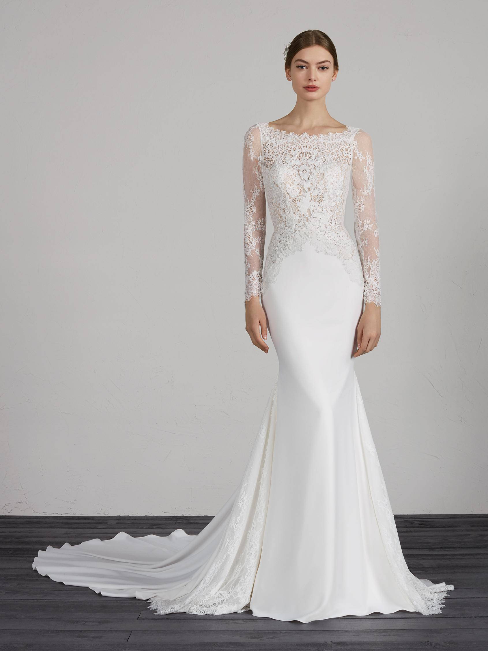 PRONOVIAS MISTIC WEDDING DRESS