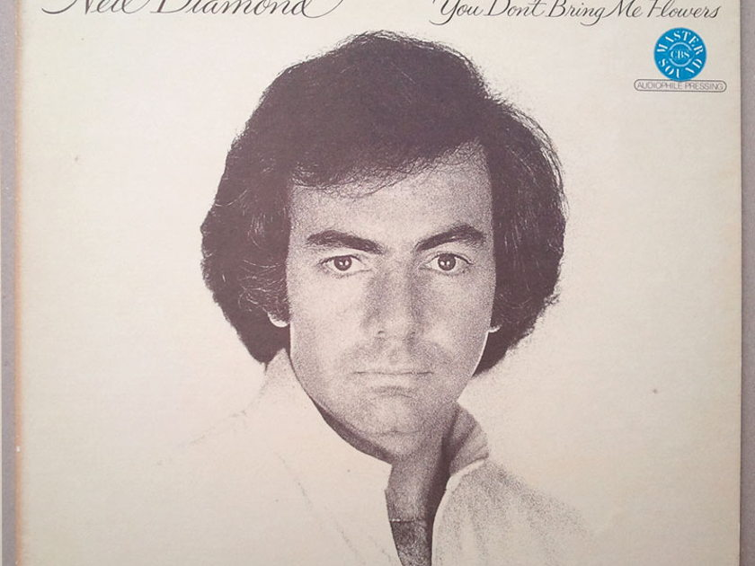 Half-Speed Mastered / Neil Diamond - - You Don't Bring Me Flowers / NM