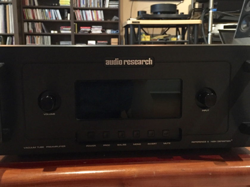 Audio Research Reference 5 Preamp Black