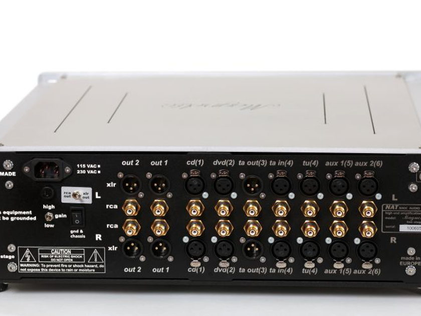 NAT MAGNETIC PREAMPLIFIER LIKE NEW