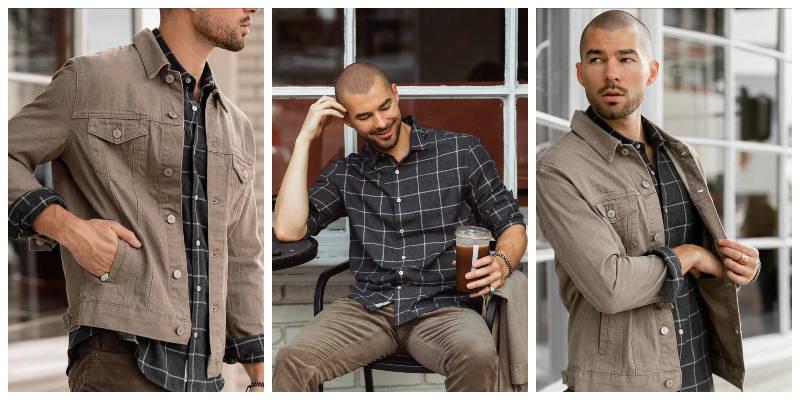 Wyatt Single Pocket Flannel Shirt