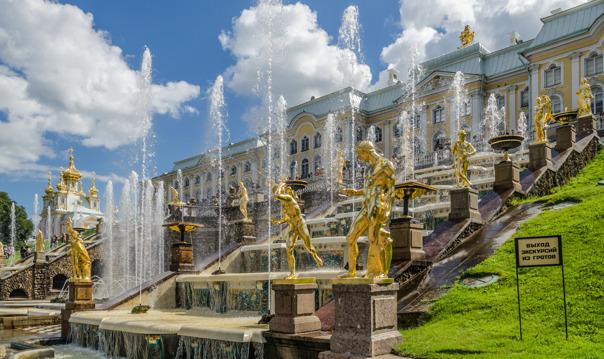 Большое путешествие - Петергоф + Кронштадт + форт Константин