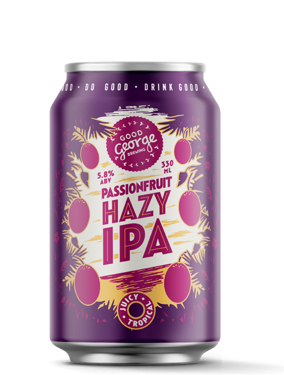Good George Passionfruit Hazy IPA Can