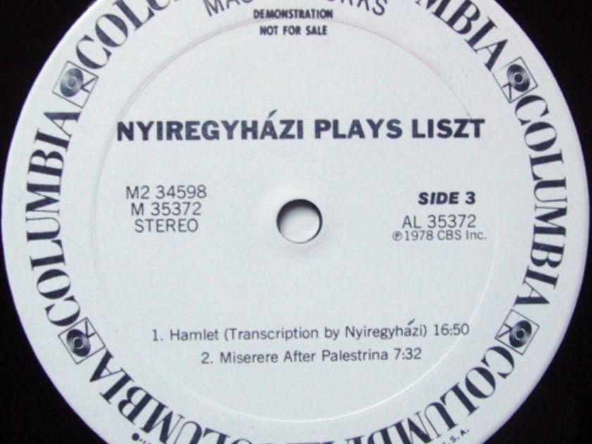 Columbia / ERVIN NYREGYHAZI, - All Liszt Program, MINT, 2LP 1st Press White Promo Copy!