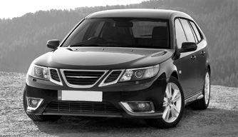 Saab monochrome