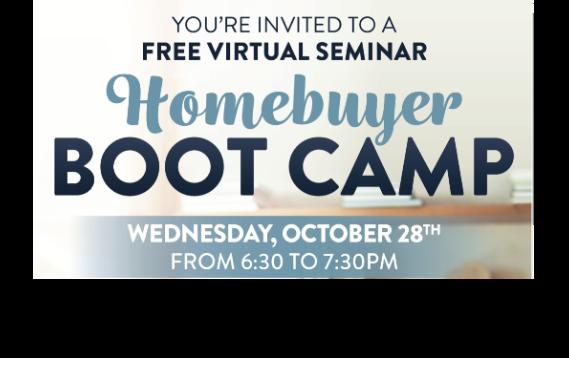 FREE Virtual Homebuyer Bootcamp Boot