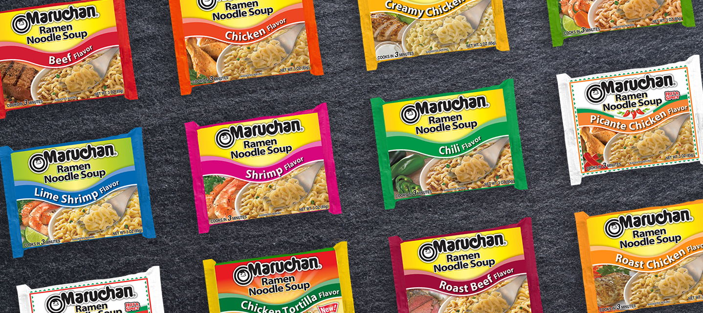 Lots of choices for America's first choice in ramen