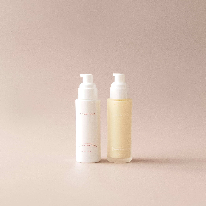 Product shot of Facial Cream Duo