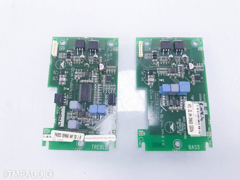 Linn Aktiv Crossover Cards ; Pair for Linn AV 5120 Center Channel Speaker (11074)