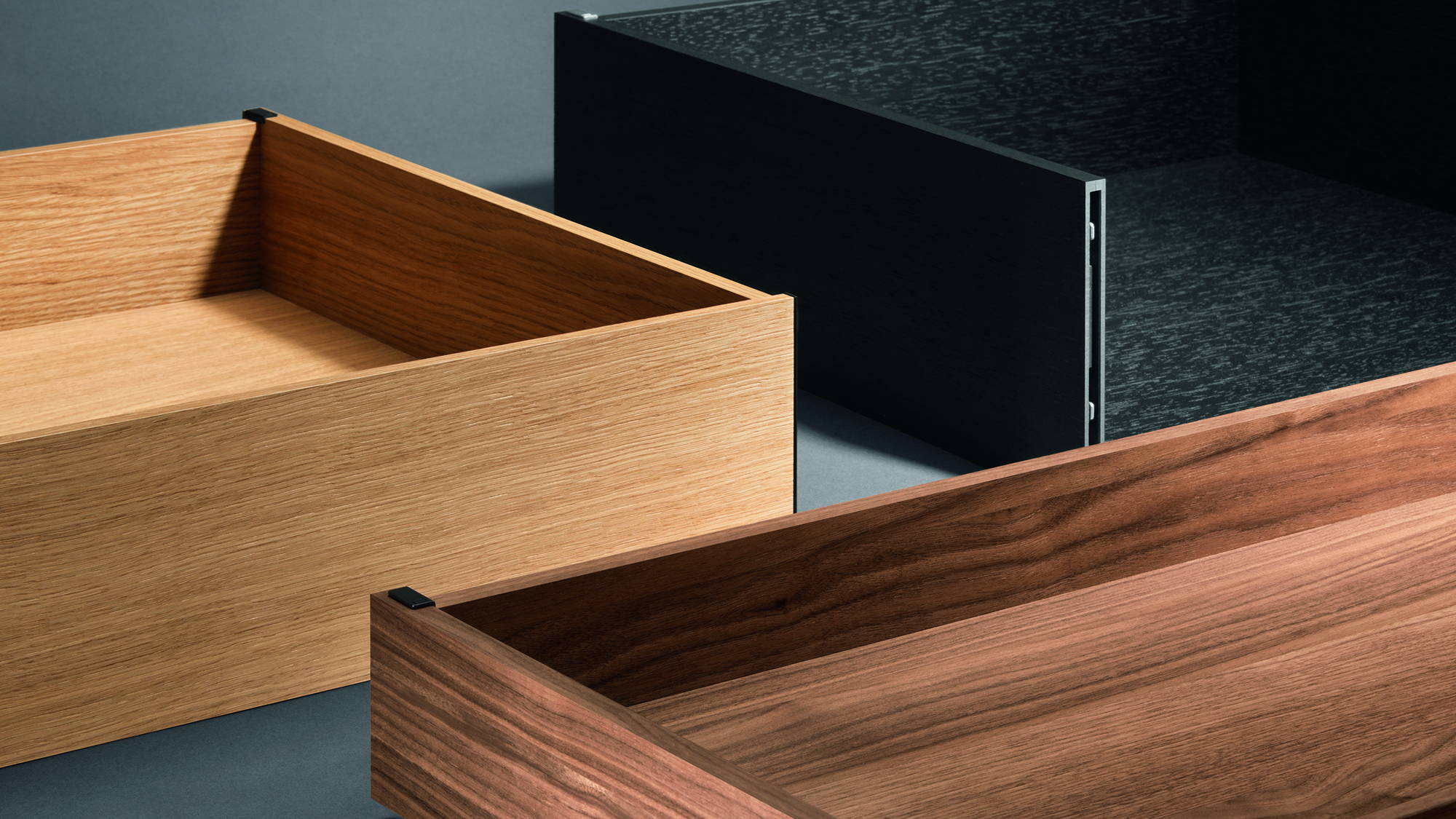 Ta'or drawer wood finishes