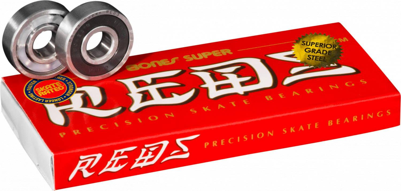 Cuscinetti da skateboard Bones Super Reds