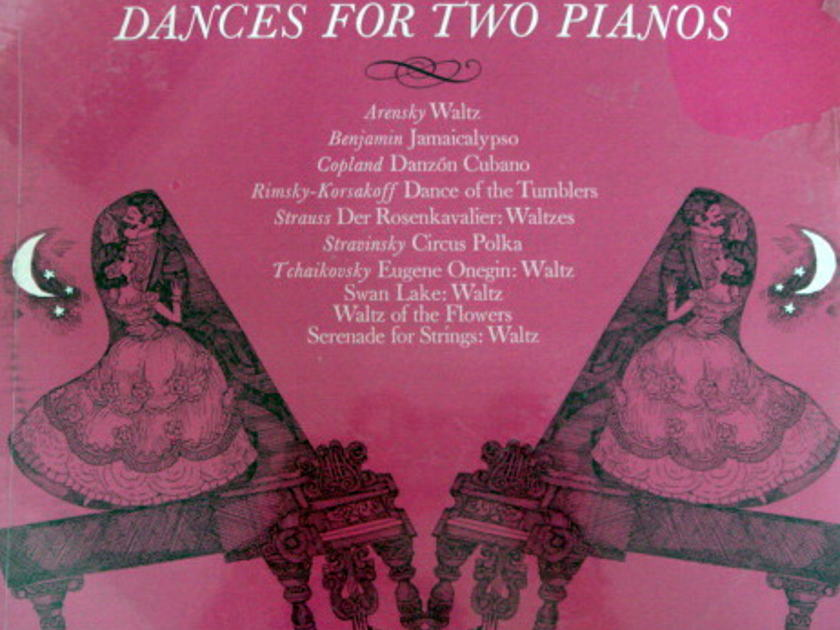 ★Sealed★ RCA Victrola / VRONSKY-BABIN, - Dances for Two Pianos, Original!