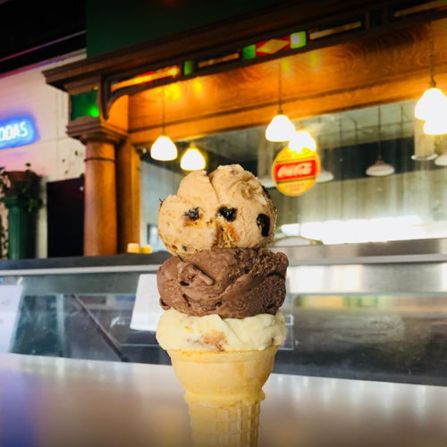 Picture of Ted & Wally's Ice Cream locations are open for takeout of pints, quarts and half-gallons.