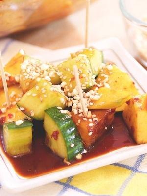 Malaysian Fruits and Vegetables Salad