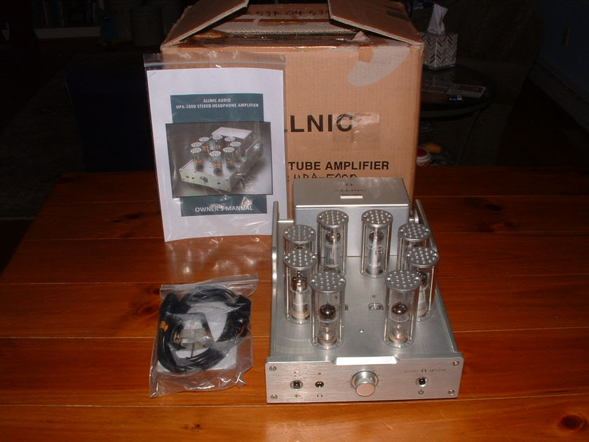 Allnic Audio HPA-5000 Headphone Amplifier - Gorgeous and Great!