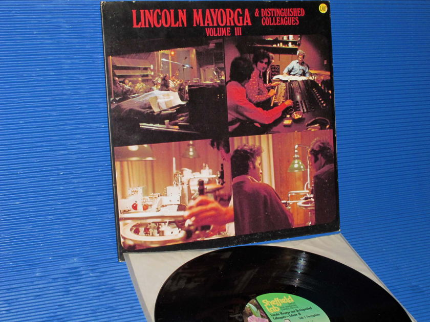 """LINCOLN MAYORGA - - """"Distinguished Colleagues Vol. III"""" -  Sheffiled Labs D-D 1974"""