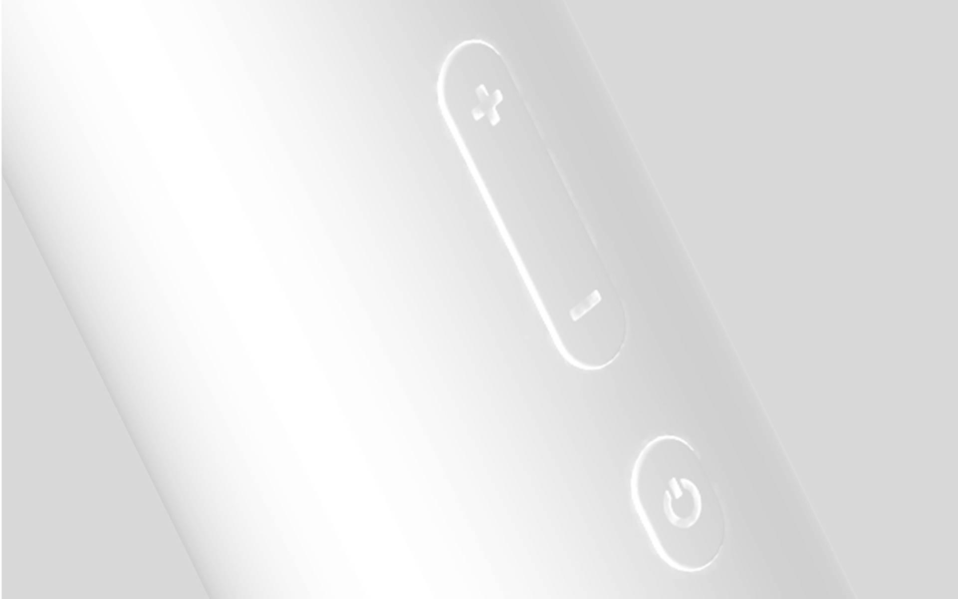 ajustar el volumen presionando la tecla arriba o abajo