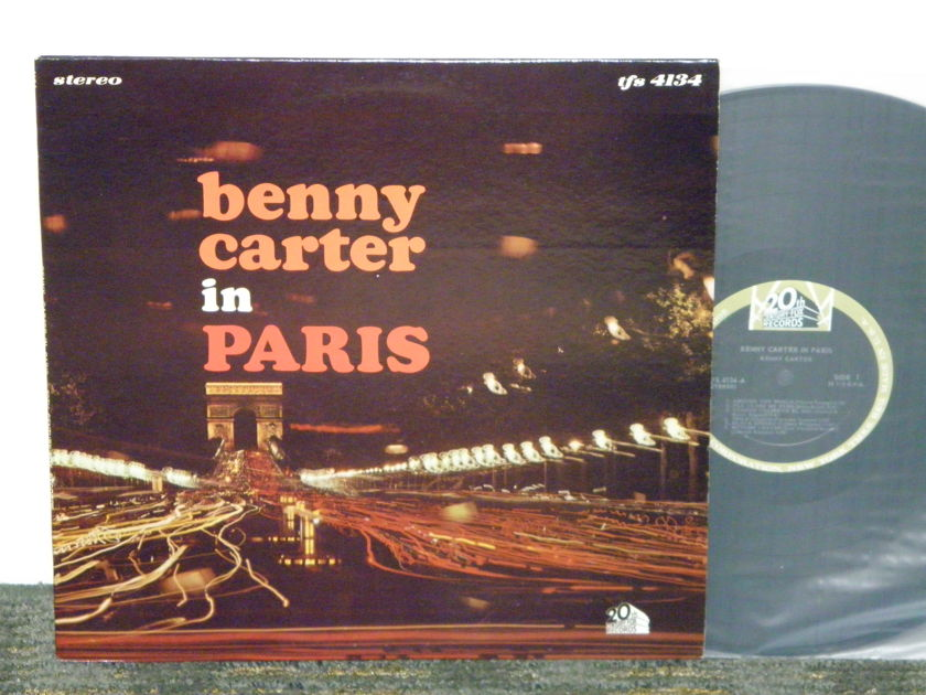 "Benny Carter  - ""Benny Carter in Paris"" 20th Century Stereo Orig issue TFS 4134 from 1964"